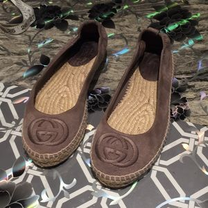 Gucci Flats big girls  size 34